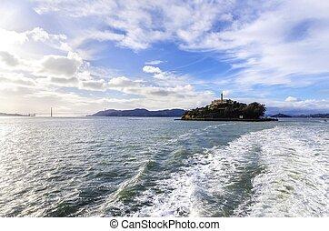 Alcatraz island, San Francisco, California - The Alcatraz...