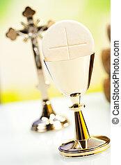Christian holy communion  - Holy communion