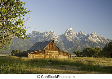 old mormon barn