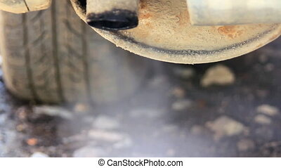 Corrosion tail-pipe gas flow