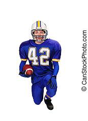Teen Football Player - Teen Football Quarterback