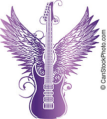 吉他, 機翼, 部落