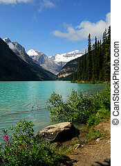 Lake Louise - Beautiful Lake Louise in Banff National Park,...