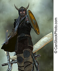 Viking Man - The Viking civilization were a seafaring people...
