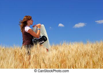 Wheat Field Dreams