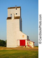 Grain Elevator - A Saskatchewan Prairie Grain Elevator
