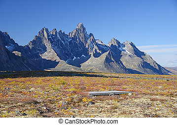 tombstone yukon - jagged mountains in tombstone territorial...