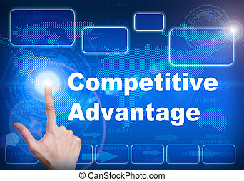Touch screen digital interface of Competitive advantage...