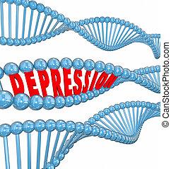 depressão, doença, mental, doença,...