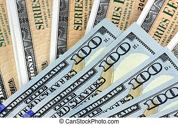 Savings Bond with American Currency