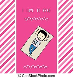 I love to read