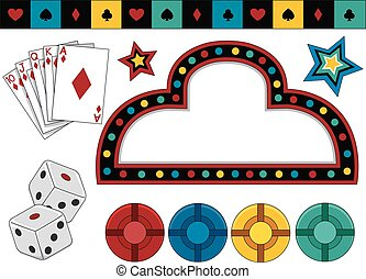 Gambling Elements - Items of Different Items Typically...