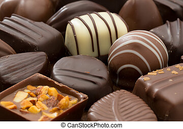 Chocolates - Assortment of fine chocolates
