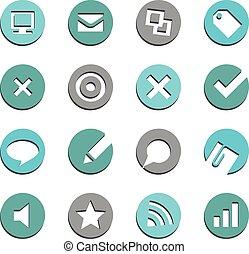E-commerce Buttons Set