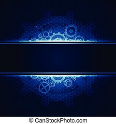 abstract computer technology concept business background,...