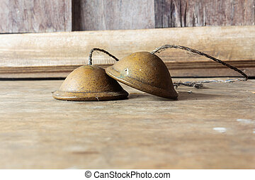 Cymbals - Ronze cymbals castanets Thai asian music...