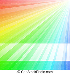 Rainbow Background - Rainbow coloured background. Available...