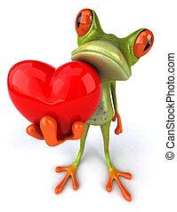Fun frog