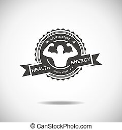 Sports - Set of various sports and fitness logo emblem...