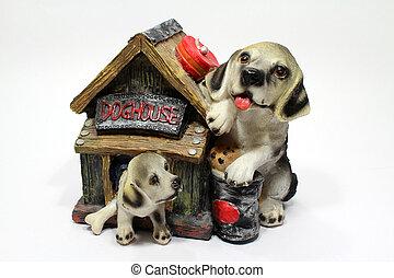 Souvenir piggy Dog House