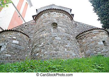 Towers of Castle of Udine, Italy - A huge towers at the...