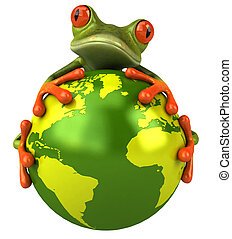 Żaba, Świat