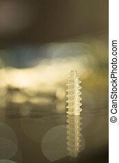 Traumatology orthopedic surgery implant plastic screw on...