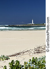 Beach of Cape St. Francis, South Africa - Beach and Light...