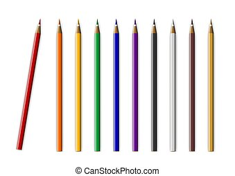Color pencil background