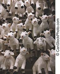 rigolote, Symbole,  lot, année,  2015, nouveau, chèvres