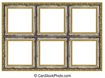 Huge frame - Hige frame isolated on pure white background