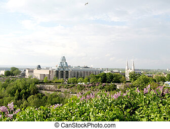 Ottawa National Gallery and Notre Dame 2008