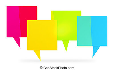 Full color abstract interaction graphic - Full color...