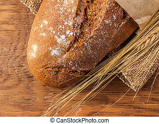loaf of bread close-up