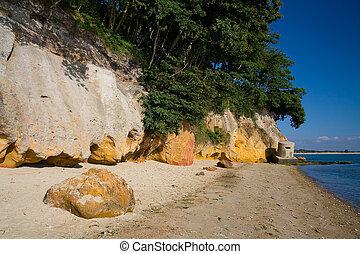 Dorset, UK. - Beach near Studland in Dorset, UK.