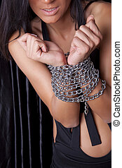 Torture - Woman Hands In Chains