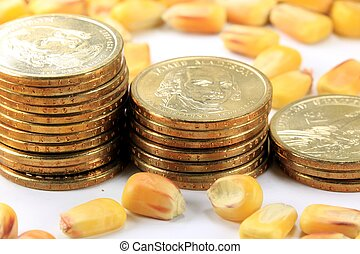 Commodity Trading Concept - Commodity Market - Futures and...