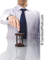 punctuality demand - your boss demands punctuality...