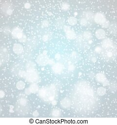 Christmas snowflakes background vector blue light abstract...