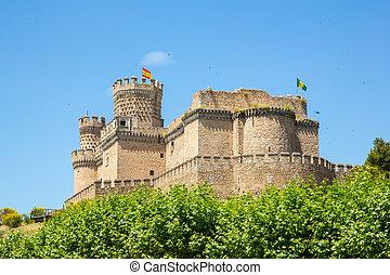 Mendoza Castle - Castle of the Mendoza in Manzanares el...