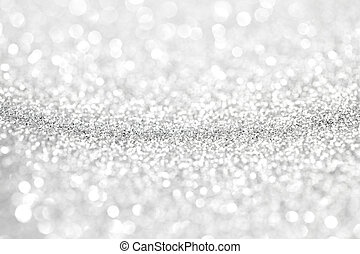 Abstract silver background - Abstract silver bokeh...