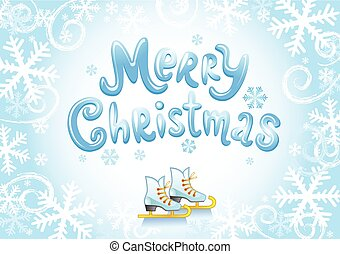 Merry Christmas - Holiday banner with -Merry Christmas...