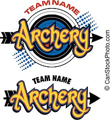 archery team design