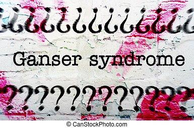 Ganser syndrome