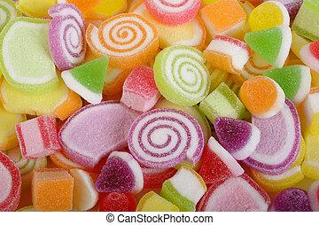甜, 糖果,