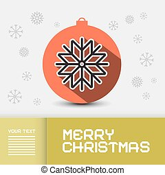 Vector Christmas - Xmas Card Template