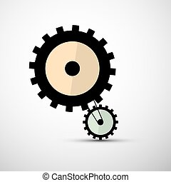 Cogs Gears Vector Illustration