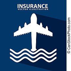 insurance design, vector illustration eps10