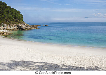cies natural park islands, Galicia, Spain