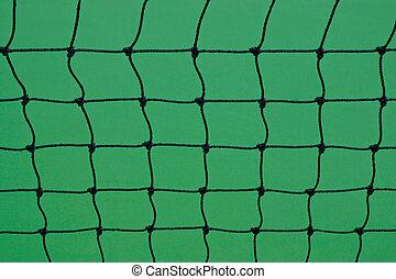 Net of Tennis Court